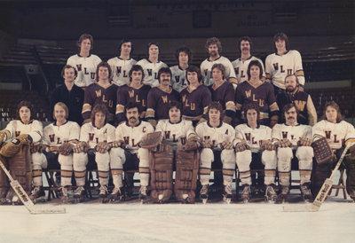 Wilfrid Laurier University men's hockey team, 1974-75