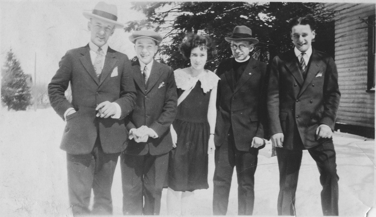 James Vorkoper and members of the Berner family