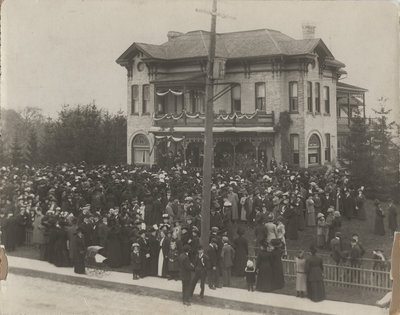 Dedication and opening of the Evangelical Lutheran Seminary of Canada, 1911