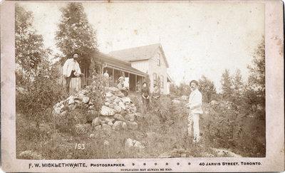 Stowe family at Lake Joseph