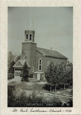St. Paul's Lutheran Church in Neustadt, Ontario
