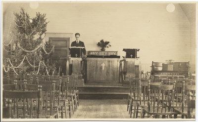 Zion English Evangelical Lutheran Church, Christmas 1924