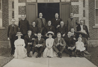 1910 Canada Synod Convention in Morrisburg, Ontario