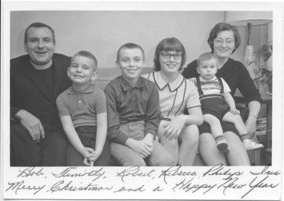 Rev. Robert Rock and family