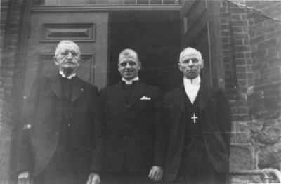 Pastors Zarnke, Brose and J.H. Reble