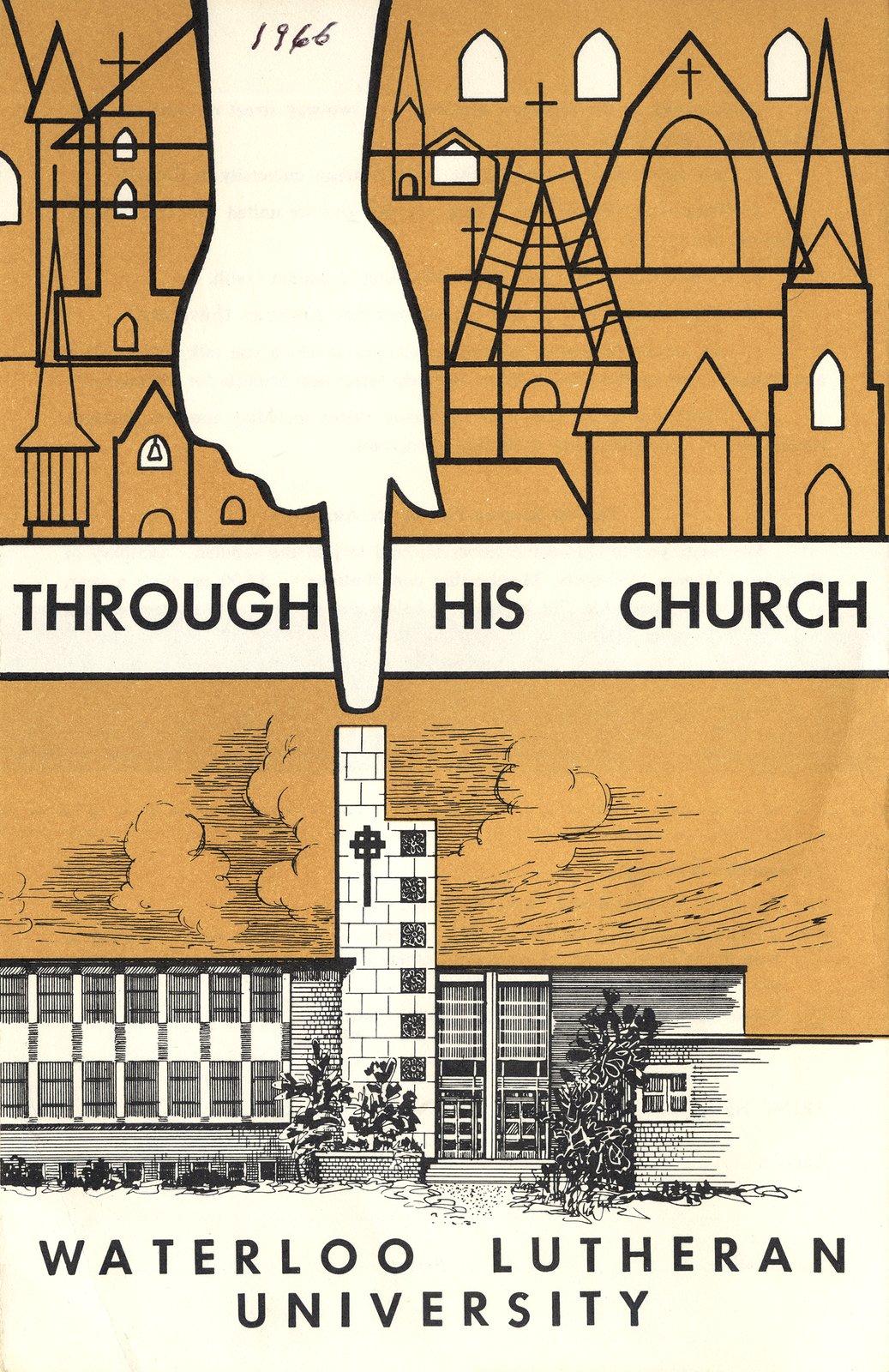 Through His Church : Waterloo Lutheran University