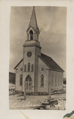 Postcard of a Lutheran church