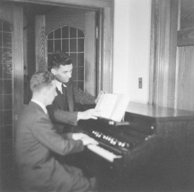 Ulrich Leupold and Wilfrid Myra