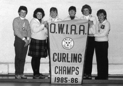 Wilfrid Laurier University women's curling team, 1985-86