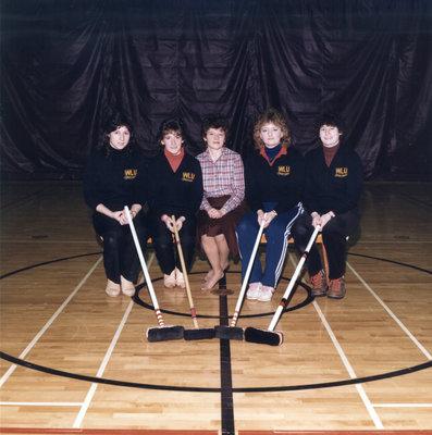 Wilfrid Laurier University women's curling team, 1984-1985