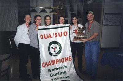 Wilfrid Laurier University women's curling team, 1998-99