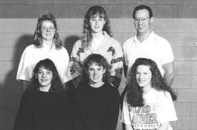 Wilfrid Laurier University women's curling team, 1990-1991