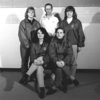 Wilfrid Laurier University women's curling team, 1991-92