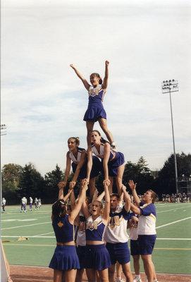 Wilfrid Laurier University cheerleaders