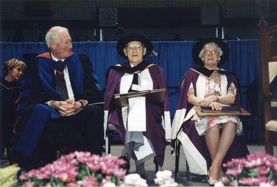 Wilfrid Laurier University spring convocation ceremony, June 8, 2002