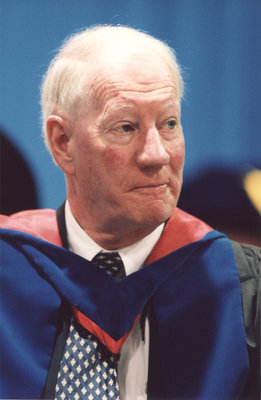 Barry McPherson at spring convocation 2002, Wilfrid Laurier University