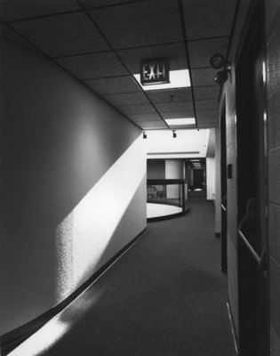 Interior of the Frank C. Peters Building, Wilfrid Laurier University