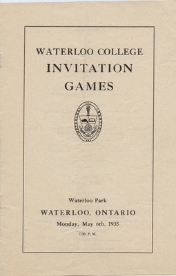 Waterloo College Invitation Games, 1935
