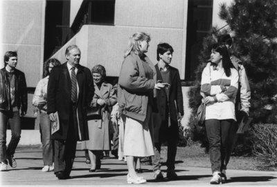 Wilfrid Laurier University open house, 1987