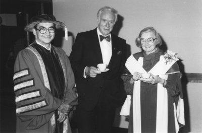John Weir, Pierre Berton and Edna Staebler