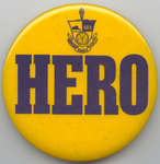 Waterloo Lutheran University orientation week button