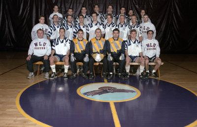 Wilfrid Laurier University men's soccer team, 1995-96
