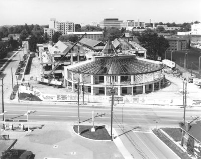 Construction of the Science Building, Wilfrid Laurier University