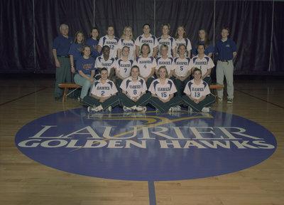 Wilfrid Laurier University women's volleyball team