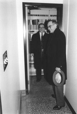 John Weir and Gordon Greene