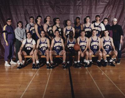 Wilfrid Laurier University men's basketball team, 1991-1992