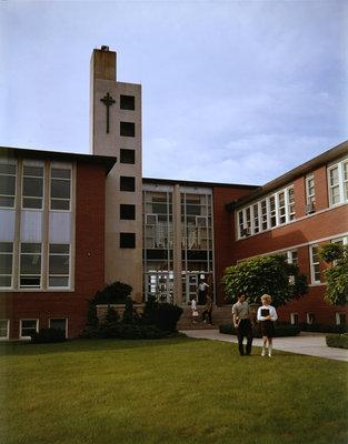 Arts Building entrance, Waterloo Lutheran University