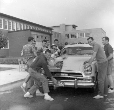 Circle-K Club car wash, Waterloo Lutheran University