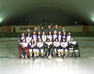 Wilfrid Laurier University women's hockey team, 1994-1995