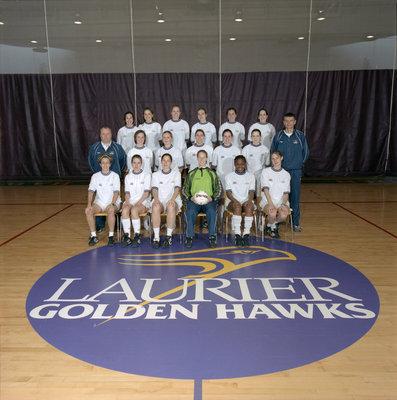 Wilfrid Laurier University women's soccer team, 2001-2002