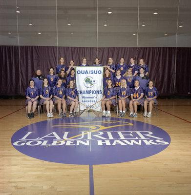 Wilfrid Laurier University women's lacrosse team, 2000