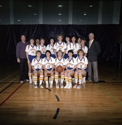 Wilfrid Laurier University women's basketball team, 1985