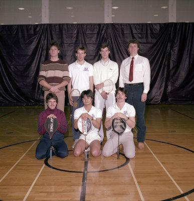 Wilfrid Laurier University men's badminton team, 1985