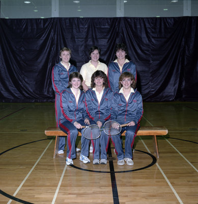 Wilfrid Laurier University women's badminton team, 1984-85