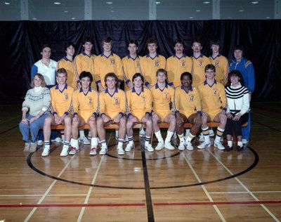 Wilfrid Laurier University men's volleyball team, 1984