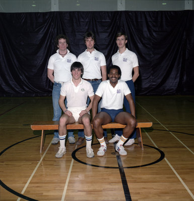 Wilfrid Laurier University men's tennis team, 1985