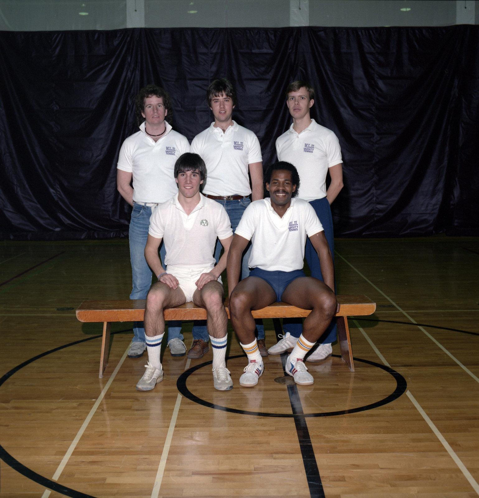 Wilfrid Laurier University men's tennis team, 1985