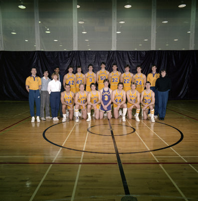 Wilfrid Laurier University men's basketball team, 1985