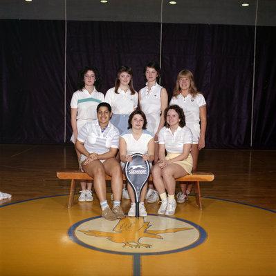 Wilfrid Laurier University women's tennis team, 1984