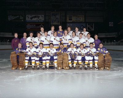 Wilfrid Laurier University men's hockey team, 1982-1983