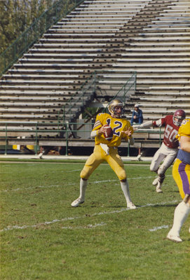 Wilfrid Laurier University football player, 1986