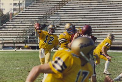 Wilfrid Laurier University football game, 1986