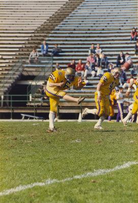 Steve Rainey during Wilfrid Laurier University football game