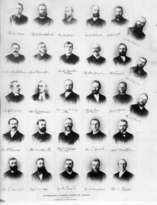 Evangelical Lutheran Synod of Canada pastors, 1894