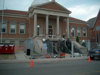 Carnegie Building renovations, Laurier Brantford