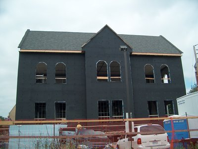 Construction of the Student Centre, Laurier Brantford